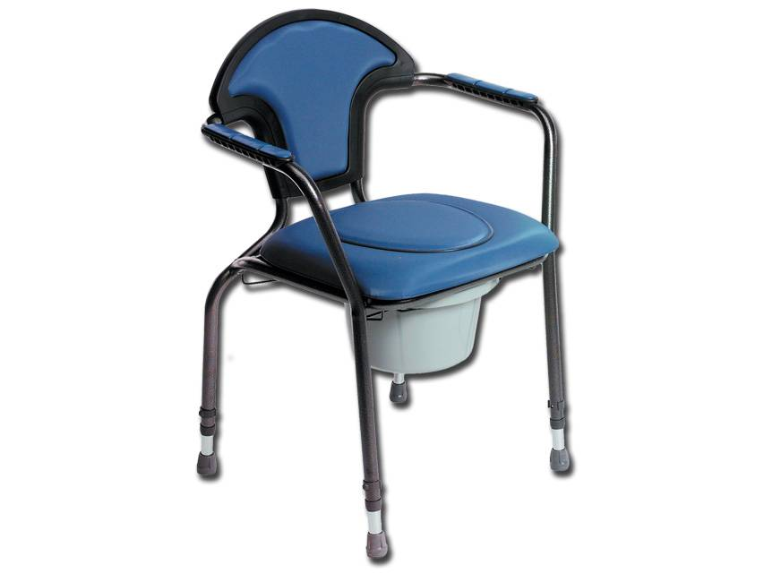 Commode chair - comfort - adjustable height