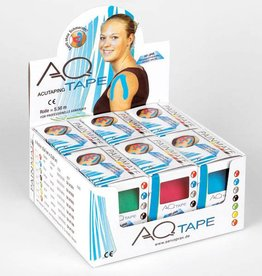AQ AQ kinesiotape fysiotape Small: Roll 5,5 m x 2,5 cm 2 pieces