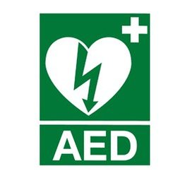 Medische Vakhandel Aufkleber AED