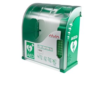 Aivia 210 A + V Wandkasten für AED