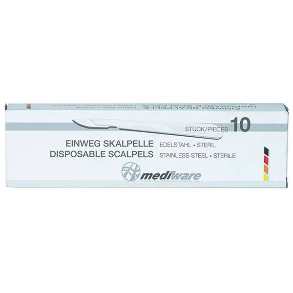Mediware disposable scalpels 10 stuks