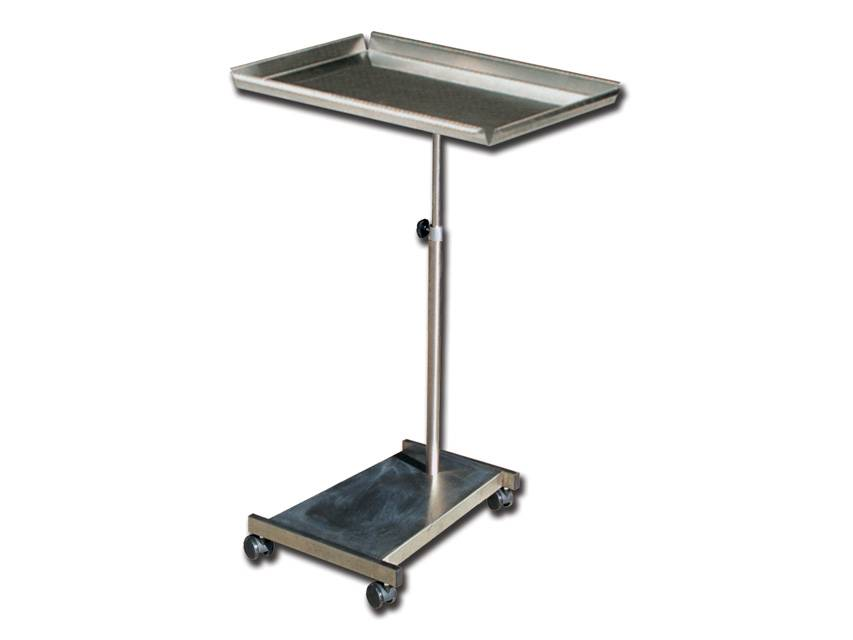 Instrument table mayo on wheels