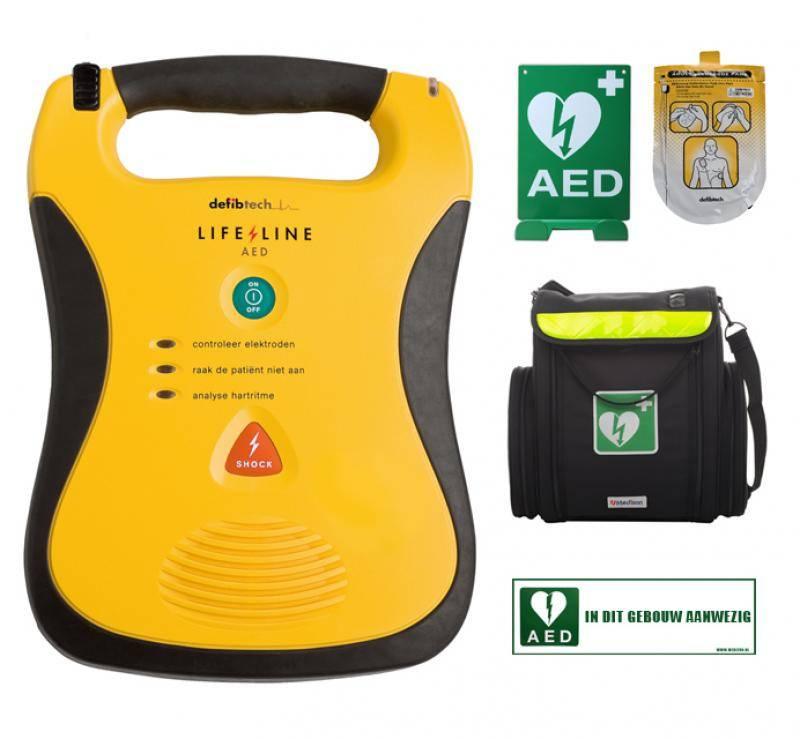 Verkoop: semi-automatische defibrillator Lifeline AED