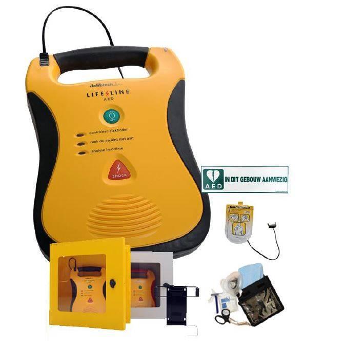 Lifeline AED actie met wandkast