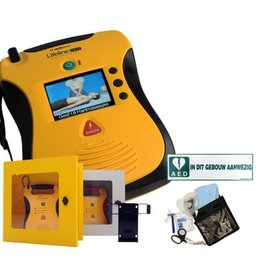 Defibtech Lifeline View AED Sale with cabinet