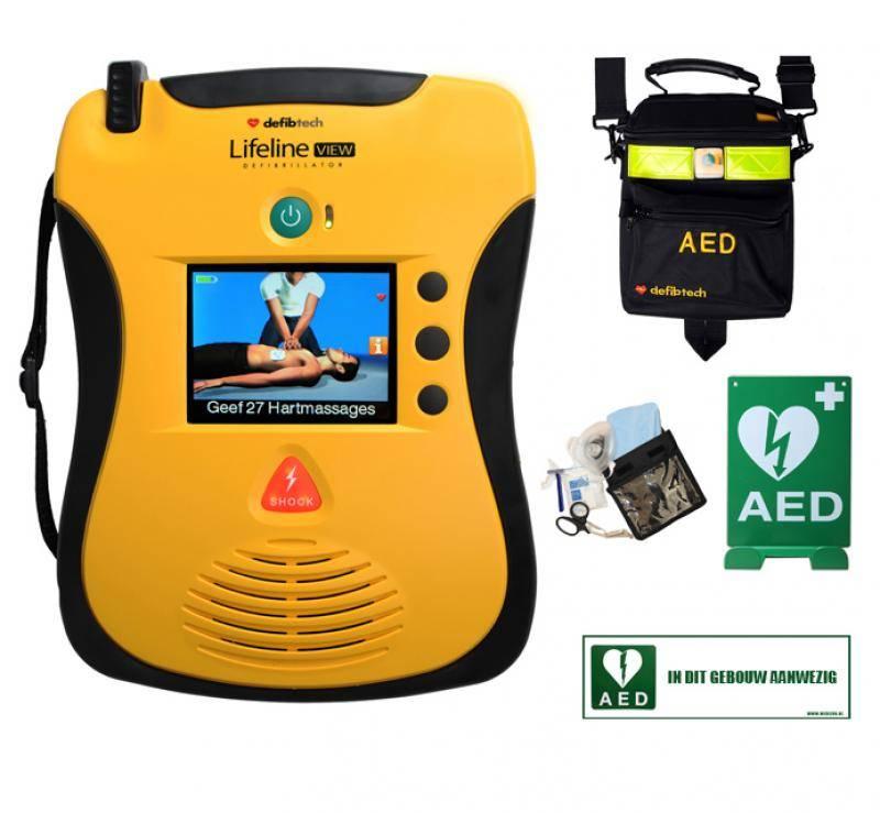 Lifeline View AED Actie