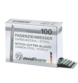 Medische Vakhandel Stitchcutter kort 6,5cm 100 + 2 stuks Mediware