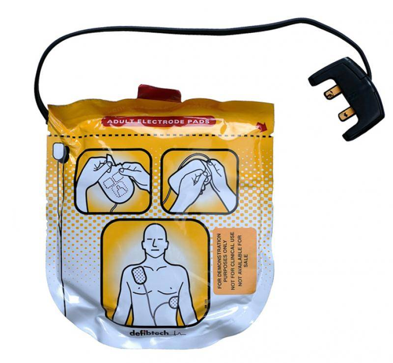 AED Electroden Lifeline View/ECG/PRO - electrodes child / adult