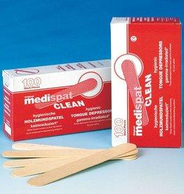 Medische Vakhandel Medispat houten tongspatels 100 stuks