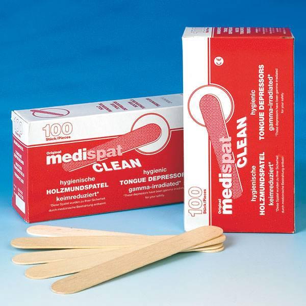 Medispat houten tongspatels 100 stuks