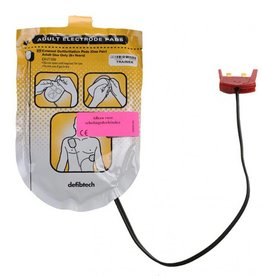 Defibtech AED training electrodes - adult