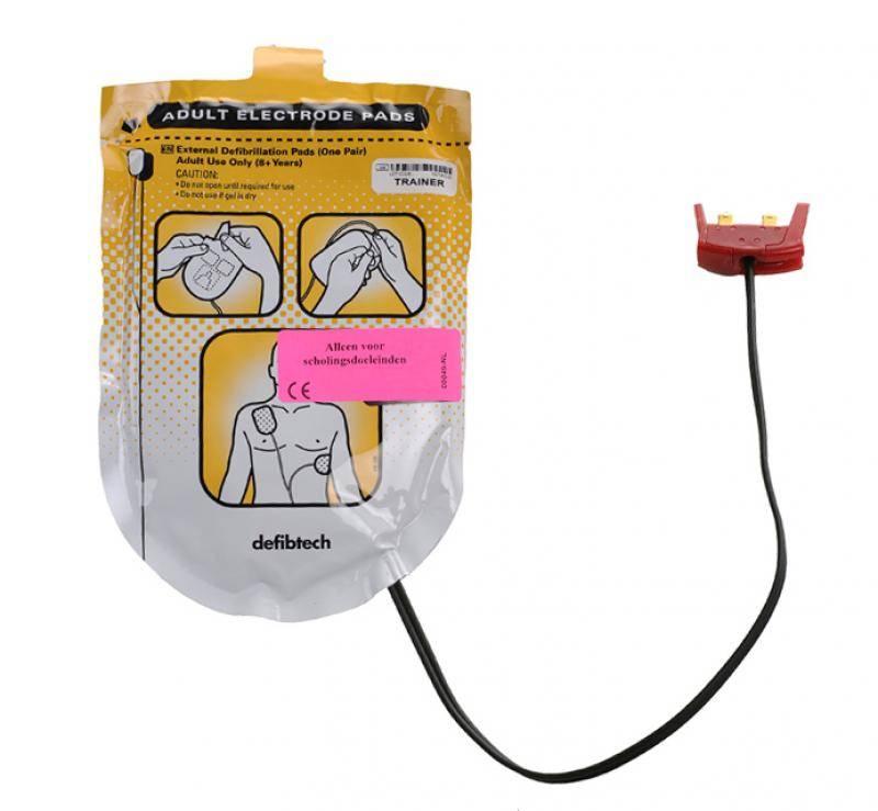 AED trainingselectroden - voor volwassenen