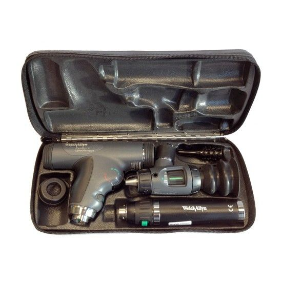 Welch Allyn diagnostic otoscope ophthalmoscope set 3.5V