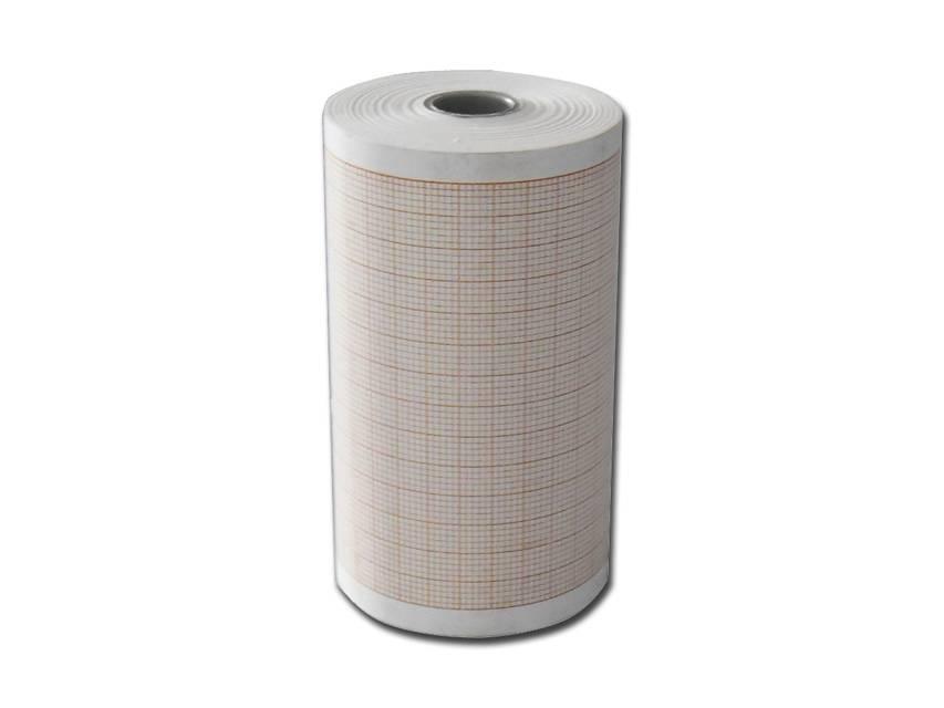 ECG papier 80 mm x 25 m 10 rollen