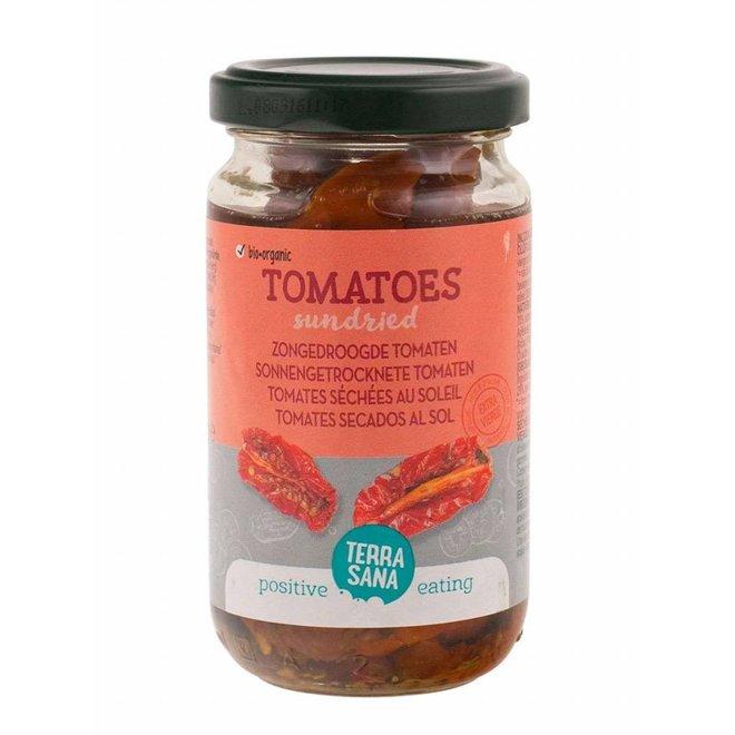 Zongedroogde Tomaat in Olijfolie 180g-BIO