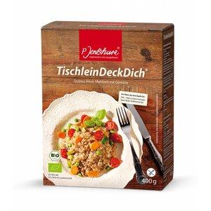 P. Jentschura Quinoa Gierst Maaltijd - 400g - BIO