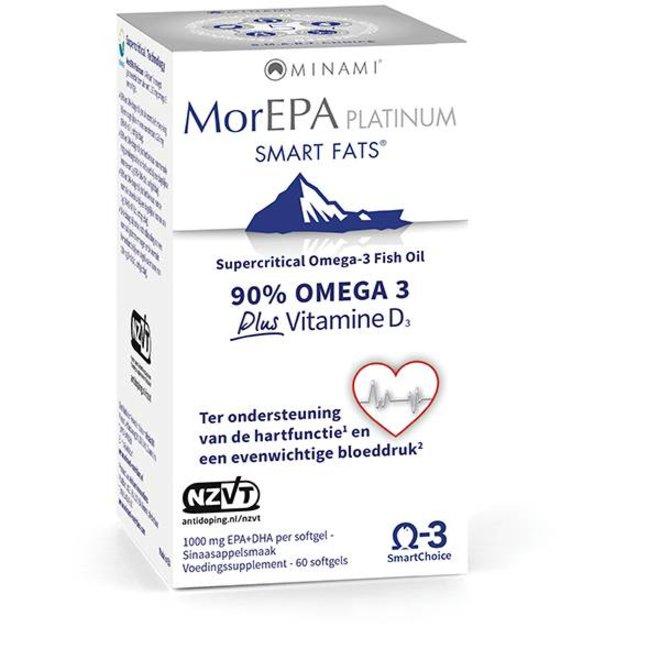 MorEPA Platinum 60 softgels