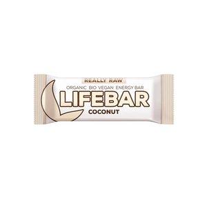 Lifebar Energiereep Kokos RAW - 47g - BIO