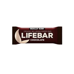 Lifebar Energiereep Chocolade RAW - 47g - BIO