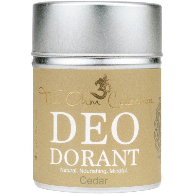 Deodorant Poeder - Cedar - 120g