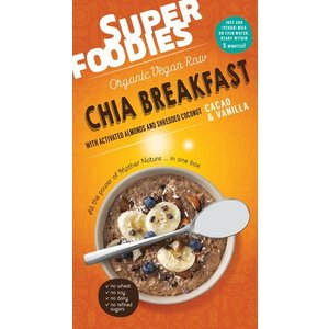 SuperFoodies Chia breakfast Cacao-Vanille - 200g