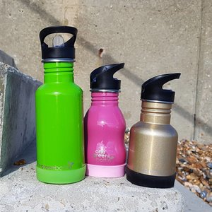 One Green Bottle Silicone Bodem - Groen