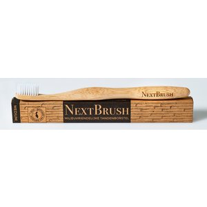NextBrush Tandenborstel bamboe - Soft