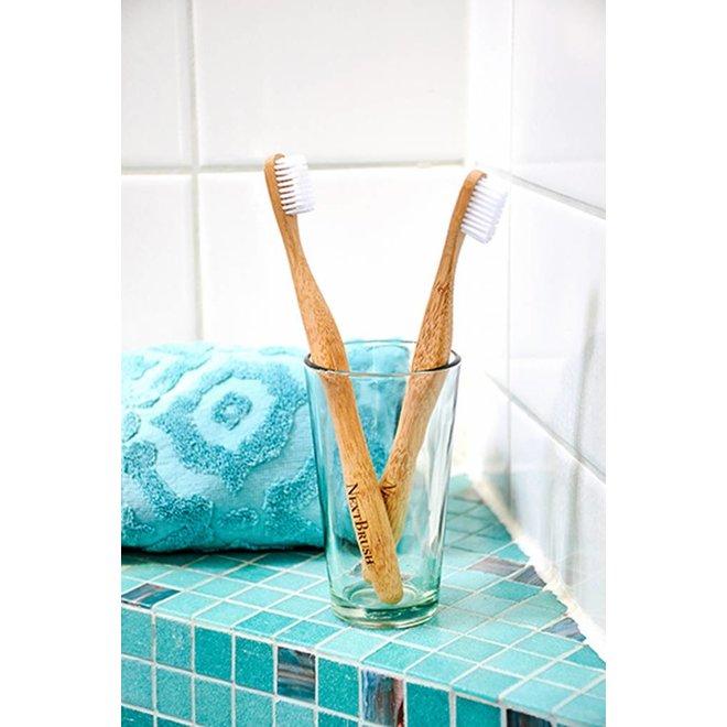 Tandenborstel bamboe - Medium