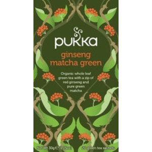 Pukka Ginseng matcha green thee - kruidenthee