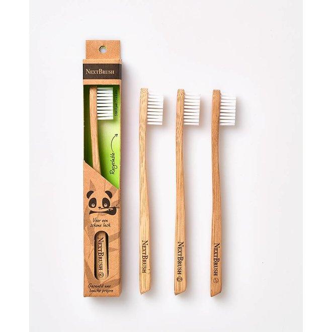 Tandenborstel bamboe - Kind