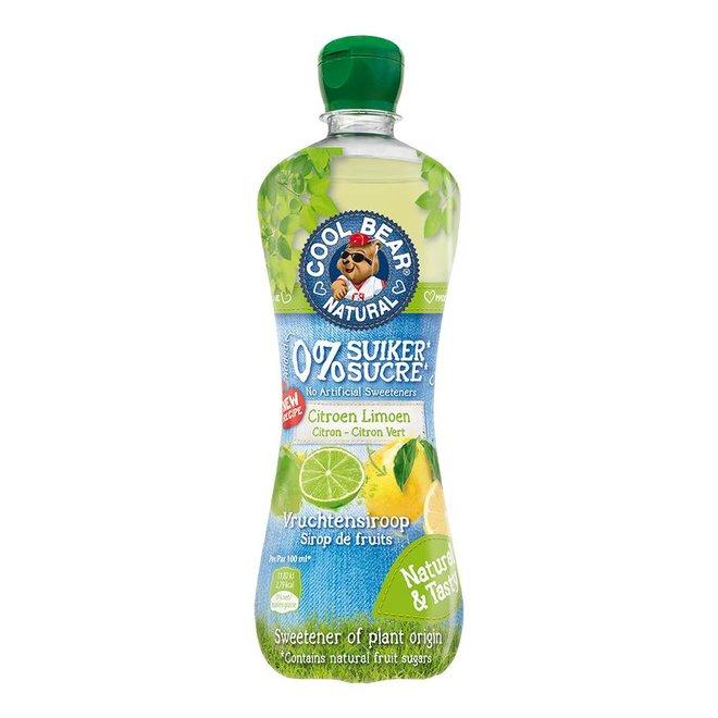 Siroop Citroen-Limoen met Zoetstoffen uit Stevia - 700ml