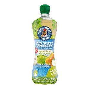 Cool Bear Siroop Appel-Peer met Zoetstoffen uit Stevia - 700ml