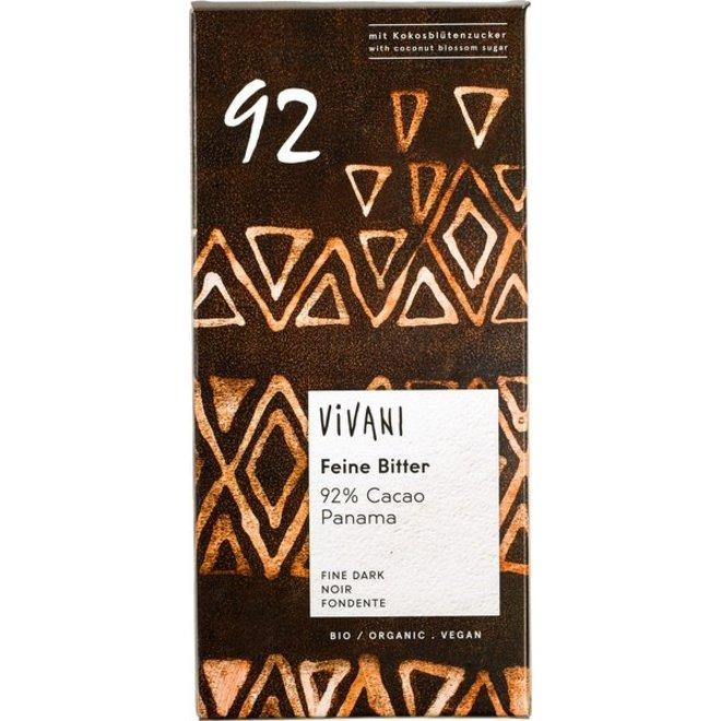 Chocoladereep Vivani 92% - BIO