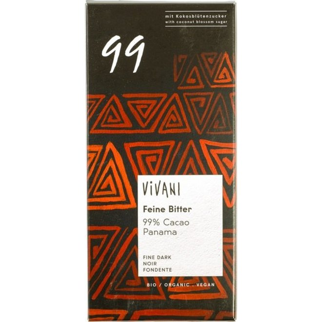 Chocolade 99% 80g-BIO