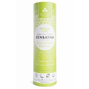 Ben & Anna Persian Lime natuurlijke soda deodorant stick