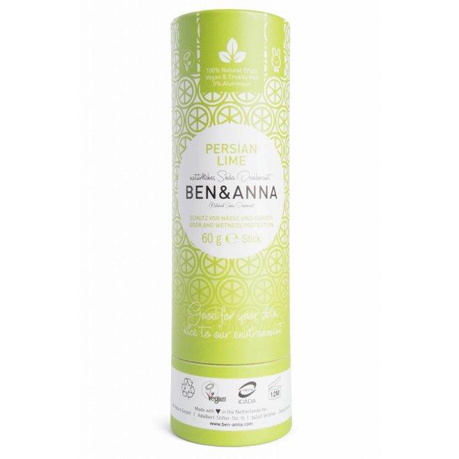 Persian Lime natuurlijke soda deodorant stick