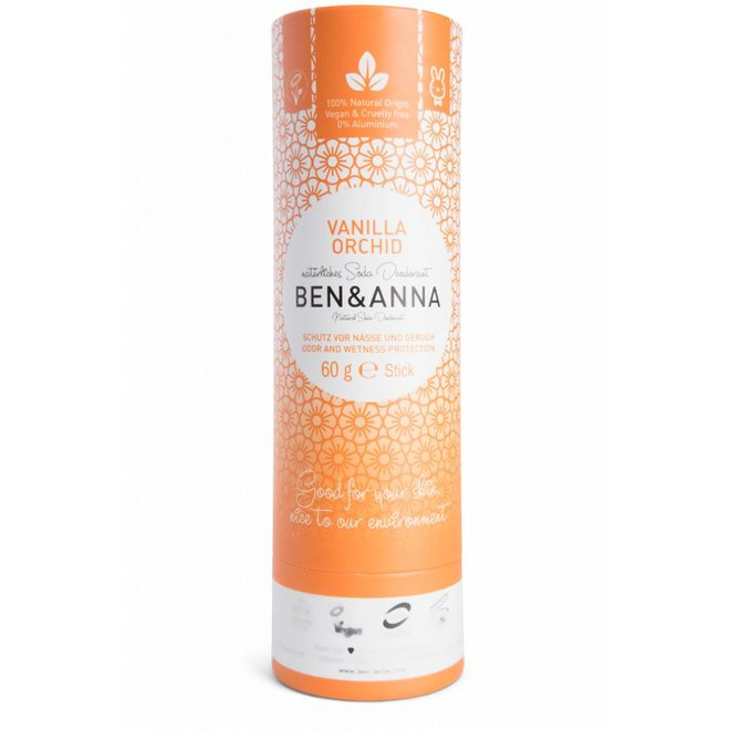 Vanilla Orchid natuurlijke soda deodorant stick