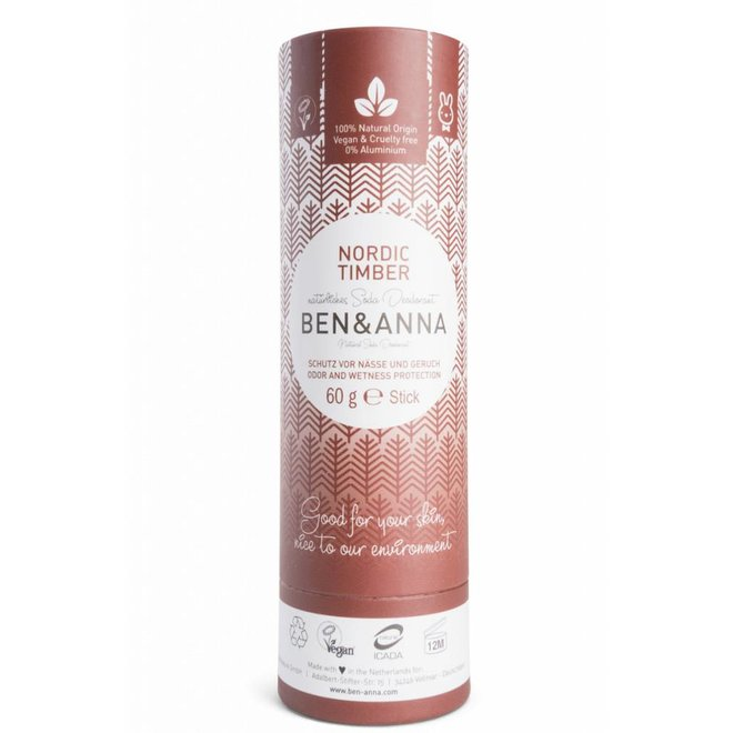Nordic Timber natuurlijke soda deodorant stick
