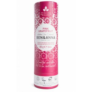 Ben & Anna Pink Grapefruit natuurlijke soda deodorant