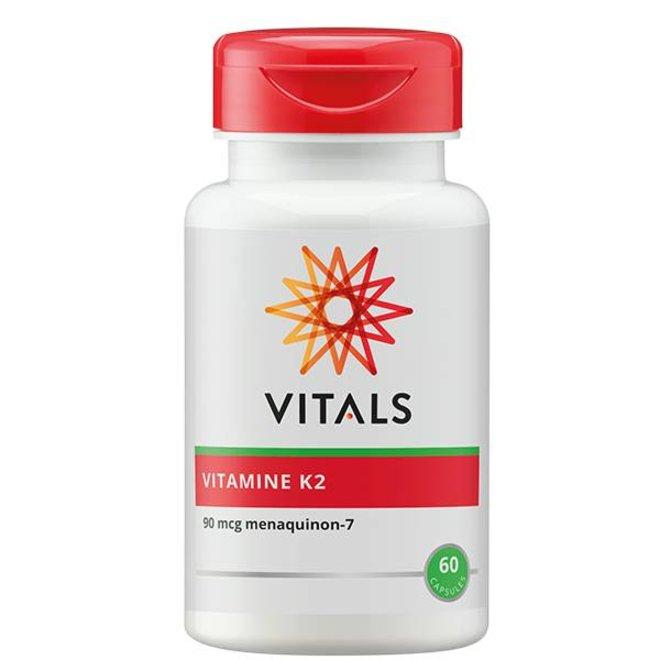 Vitamine K2 90 mcg 60 capsules