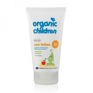 Green People Organic Lifestyle Zonnebrandcreme Kids Parfumvrij SPF30 - 150ml