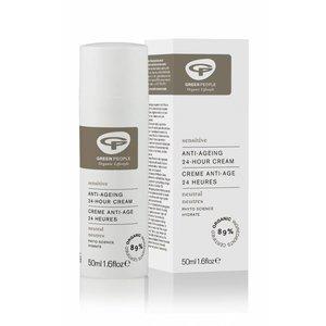 Green People Organic Lifestyle Neutrale Parfumvrije Anti-Age 24 uur Creme - 50ml
