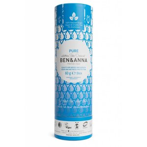 Ben & Anna Pure. Natuurlijke soda deodorant stick
