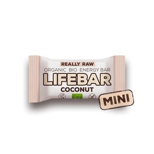 Lifebar MINI Lifebar Energiereep Kokos RAW & BIO - 25g