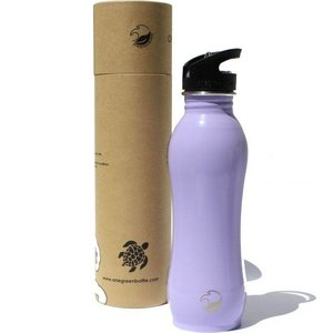 One Green Bottle Curvy - Sea Lavender - met Quench cap - 800ml