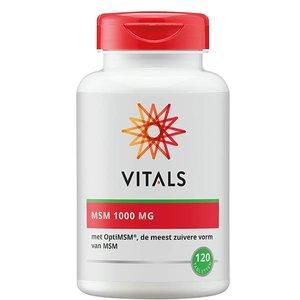 Vitals MSM 1000 mg  - 120 tabletten