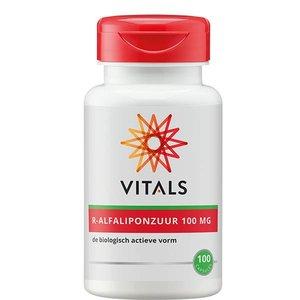 Vitals Natuurlijk R-Alfaliponzuur 100 capsules