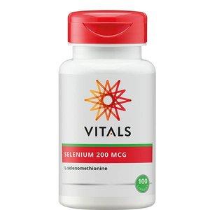 Vitals Selenium 200 mcg 100 capsules