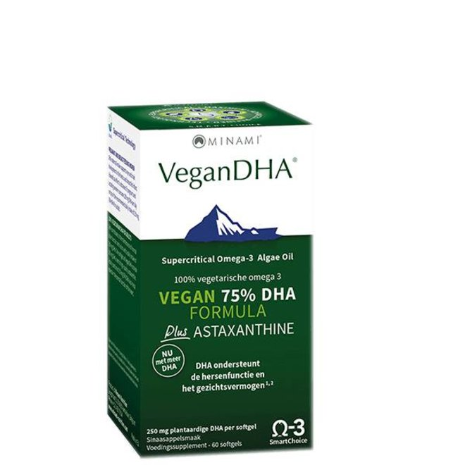 VeganDHA 60 vegetarische softgels