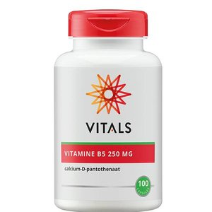 Vitals Vitamine B5 250 mg 100 capsules
